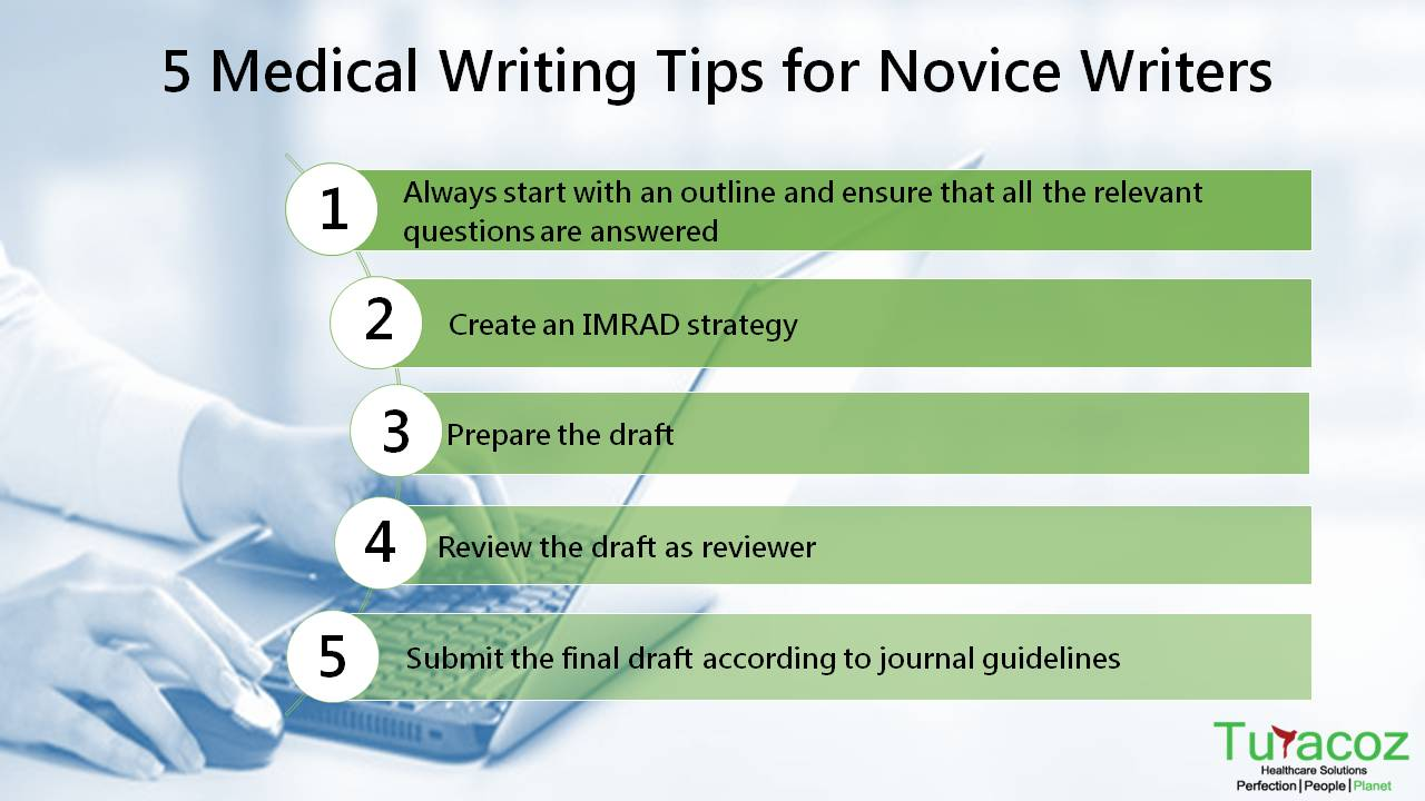 5 tips on medical writing